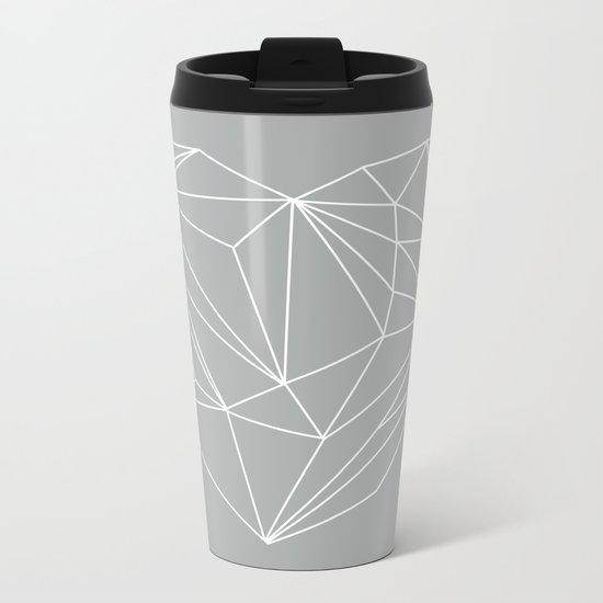 Heart Graphic 6 Metal Travel Mug