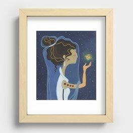 Nebula Recessed Framed Print