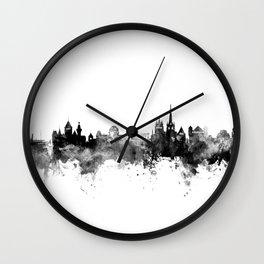 Lausanne Switzerland Skyline Wall Clock