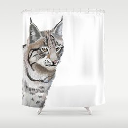 Lynx Cat Shower Curtain