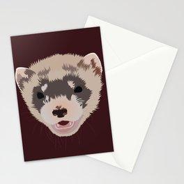Cute Ferret Stationery Cards