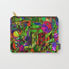 electric camo. Carry-All Pouch
