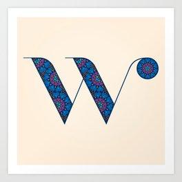 W - Amarilis Art Print
