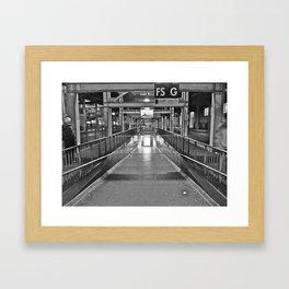 Old San Francisco Transbay Terminal Framed Art Print