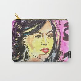 I am Woman: Michelle Obama Carry-All Pouch