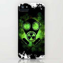 Gaz Mask iPhone Case
