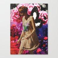 pixies Canvas Prints featuring #Pixies by Lexi Colt