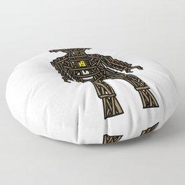 The Playmobil Wicker Man Floor Pillow