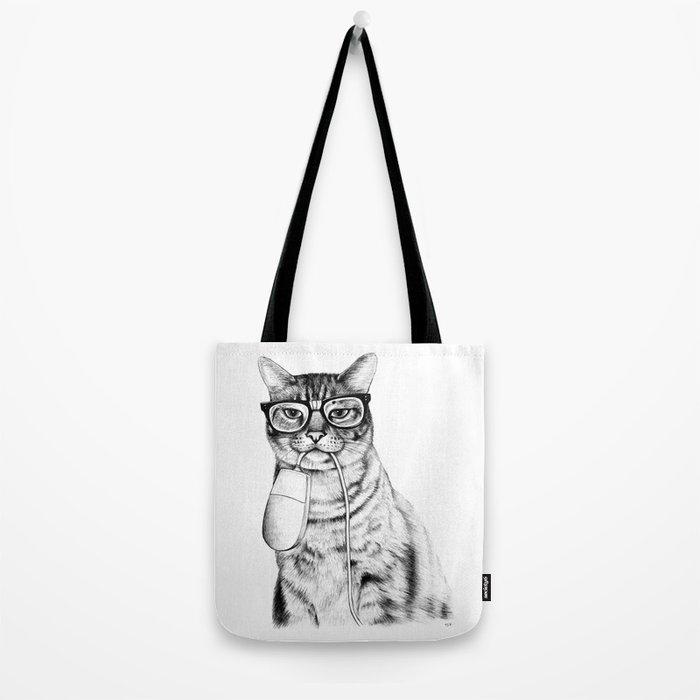 Mac Cat Tote Bag