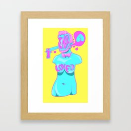 Helpful Rhythmic Trauma Framed Art Print