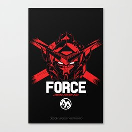 FORCE SIGMA RED Limited Edition Canvas Print