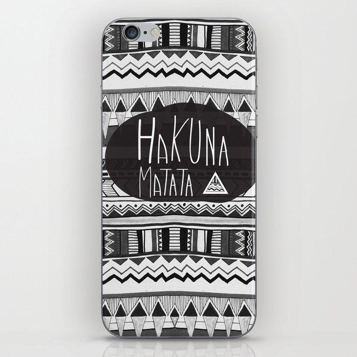 HAKUNA MATATA  iPhone Skin
