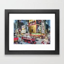 Times Square II Framed Art Print