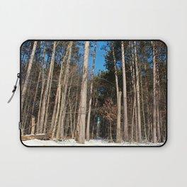 Woods in Winter Laptop Sleeve