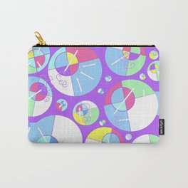 Bubble Purple Carry-All Pouch