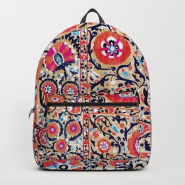 Shakhrisyabz Suzani Uzbek Embroidery Print Backpack