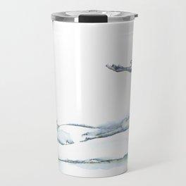 Flying Eagle, Hudson Valley (horizontal) Travel Mug