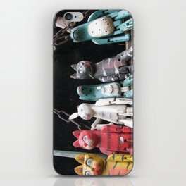 Friends sitting in the market at camden town !!! iPhone Skin