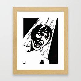MOTHER! Framed Art Print