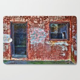 Abandonned building Cutting Board