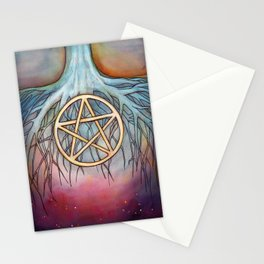 Ace of Pentacles Stationery Cards