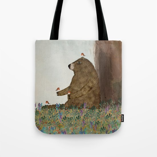Afternoon Song Tote Bag