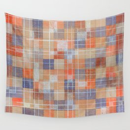 Squares Wall Tapestry