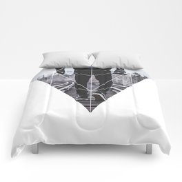 Photographic Path - Geometric Photography Comforters