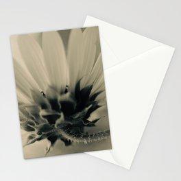 Monchrome Sunflower Stationery Cards