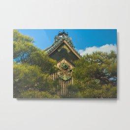Nijo Castle Metal Print