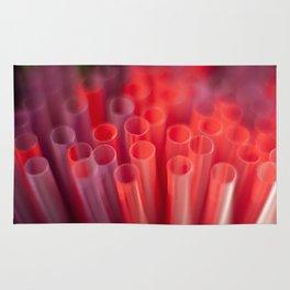 Colorful Straws Rug