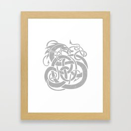 JÖRMUNGANDR Framed Art Print