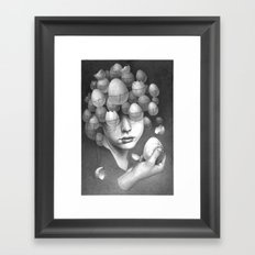 FRAGILE 3# Framed Art Print
