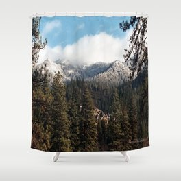 Yolla Bollies in the winter..... Shower Curtain