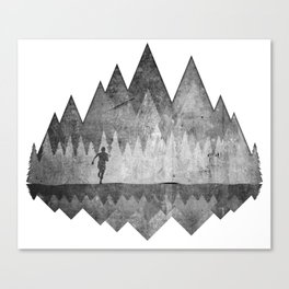 Trailrunning Canvas Print