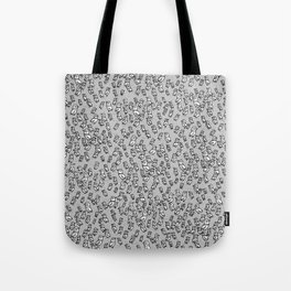 Rockwell Birds - Gray Tote Bag