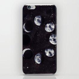 Lunar Cycle iPhone Skin