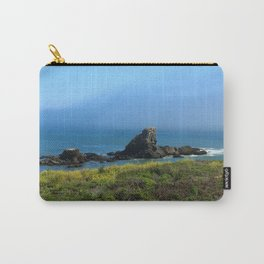 Rocks In The Sea At Pigeon Point Carry-All Pouch