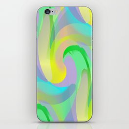 Soft Rainbow Abstract - Painterly iPhone Skin