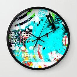 023 - LUCHADORES KAMIKAZE Wall Clock