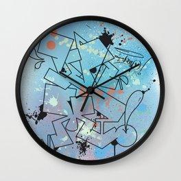 Vamp Paint Wall Clock