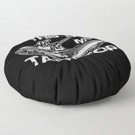 This is my tank top tank motif soldiers gift Floor Pillow