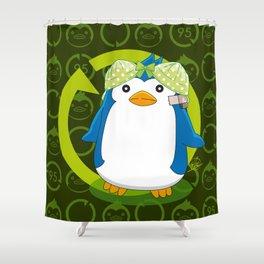 N° 2 Sexy Spy - Mawaru Penguindrum Shower Curtain
