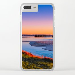 Sunrise on The Entrance Channel Clear iPhone Case