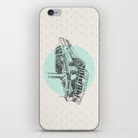 steam punk iPhone & iPod Skins featuring Steam punk by grop