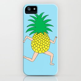 Pineapple Two iPhone Case