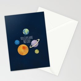 You Guys Have No Life! Stationery Cards