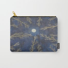 Moon Through The Trees Carry-All Pouch