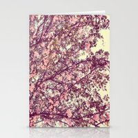 sofa Stationery Cards featuring floral sofa by vibeyantlers