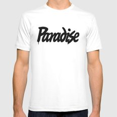 prds White Mens Fitted Tee MEDIUM